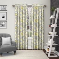 Pairs to Go™ Bradway 63-Inch Rod Pocket Window Curtain Panel Pair in Grey