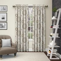 Pairs to Go™ Bradway 63-Inch Rod Pocket Window Curtain Panel Pair in Neutral