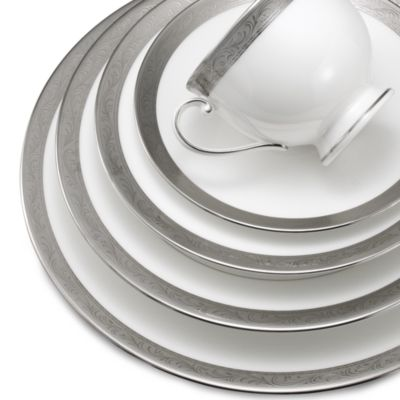 Mikasa® Crown Jewel Platinum 10 1/2-Inch Dinner Plate  sc 1 st  Bed Bath u0026 Beyond & Buy Crown Plates from Bed Bath u0026 Beyond