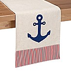 Sam Hedaya 90-Inch Anchors Away Table Runner