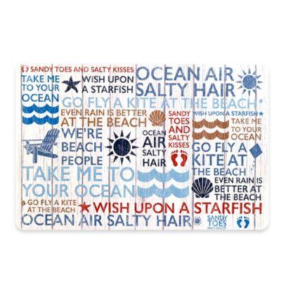 Avanti Beach Words Placemat