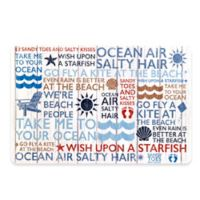 Avanti Beach Words Placemat