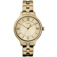 Timex® Ladies' 36mm Peyton Watch in Goldtone
