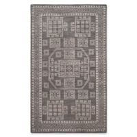 Safavieh Kenya Bordered Tribal 5-Foot x 8-Foot Area Rug in Grey