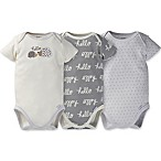 Gerber® Onesies® Brand Newborn 3-Pack Organic Cotton Hedgehog Bodysuits