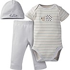 Gerber® Onesies® Brand Size 6M 3-Piece Hedgehog Organic Cotton Bodysuit, Pant and Hat Set