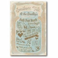 Courtside Market Southern Talk Canvas Wall Art