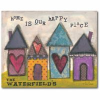 Courtside Market Happy Home Canvas Wall Art