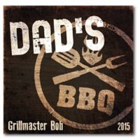 "Courtside Market ""Dad's BBQ"" Canvas Wall Art"