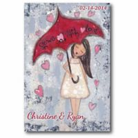 Courtside Market Shower Me With Love Canvas Wall Art