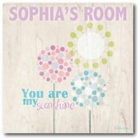 """Courtside Market """"You Are My Sunshine"""" Canvas Wall Art"""