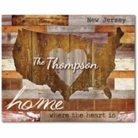 Courtside Market Home & Heart Canvas Wall Art
