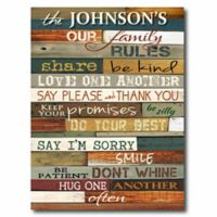 Courtside Market Our Family Canvas Wall Art
