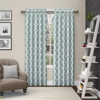 Pairs to Go™ Vickery 84-Inch Rod Pocket Window Curtain Panel Pair in Spa