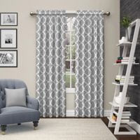 Pairs to Go™ Vickery 63-Inch Rod Pocket Window Curtain Panel Pair in Grey