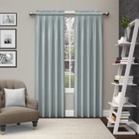 Pairs to Go™ Teller 84-Inch Rod Pocket Window Curtain Panel Pair in Spa