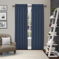 Pairs to Go™ Teller 84-Inch Rod Pocket Window Curtain Panel Pair in Indigo
