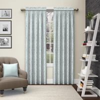 Pairs to Go™ Pinkney 63-Inch Rod Pocket Window Curtain Panel Pair in Mist
