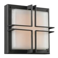 PLC Lighting Piccolo1-Light Outdoor Fixture Light in Silver