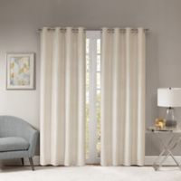 Templeton 84-Inch Grommet Top Window Curtain Panel in Natural