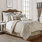 Waterford® Chantelle Full Comforter Set in Taupe