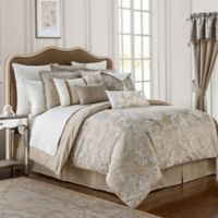 Waterford® Chantelle Queen Comforter Set in Taupe