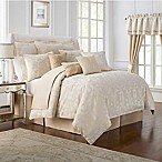 Waterford® Linens Britt King Comforter Set in Gold