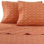 Clairebella Geometric Full Sheet Set in Orange