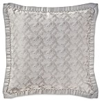 Waterford® Sophia European Pillow Sham in Platinum