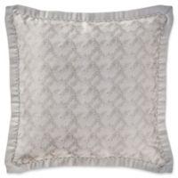 Waterford® Sophia European Pillow Sham in Platinum