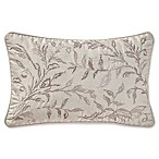Waterford® Sophia Oblong Throw Pillow in Platinum