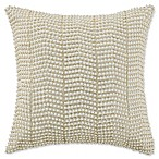 Waterford® Linens Britt Pearl Throw Pillow in Gold