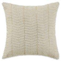 Waterford® Linens Britt Pearl Throw Pillow in Gold