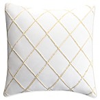 Bridge Street Marabelle European Pillow Sham in Ecru