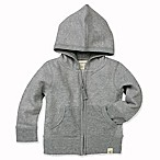 Burt's Bees Baby® Size 0-3M Loose Pique Hoodie in Grey