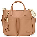 SKIP*HOP® Greenwich Simply Chic Diaper Tote in Saddle