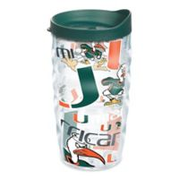 Tervis® University of Miami 10 oz. Wavy Wrap Tumbler with Lid
