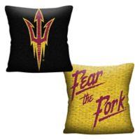 Arizona State University Woven Square Throw Pillow