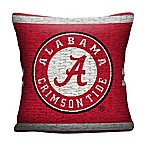 University of Alabama Woven Square Throw Pillow