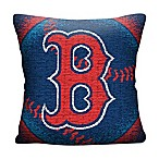 MLB Boston Red Sox Woven Square Throw Pillow