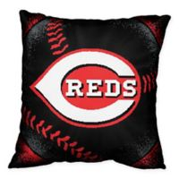 MLB Cincinnati Reds Woven Square Throw Pillow