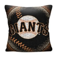 MLB San Francisco Giants Woven Square Throw Pillow