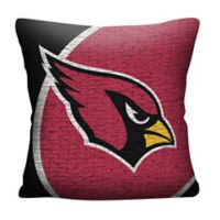 NFL Arizona Cardinals Woven Square Throw Pillow