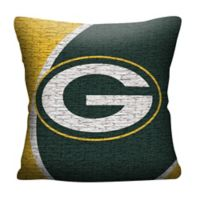 NFL Green Bay Packers Woven Square Throw Pillow