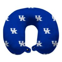 University of Kentucky Plush Microfiber Travel Pillow with Snap Closure