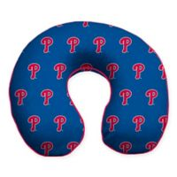 MLB Philadelphia Phillies Plush Microfiber Travel Pillow