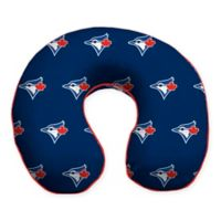 MLB Toronto Blue Jays Plush Microfiber Travel Pillow