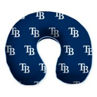 MLB Tampa Bay Rays Plush Microfiber Travel Pillow