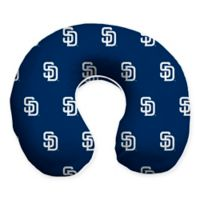 MLB San Diego Padres Plush Microfiber Travel Pillow