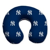 MLB New York Yankees Plush Microfiber Travel Pillow